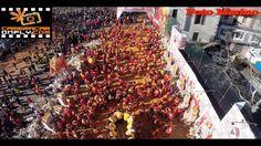 Battaglia delle Arance Carnevale Ivrea - Riprese Aeree Mozzafiato Drone