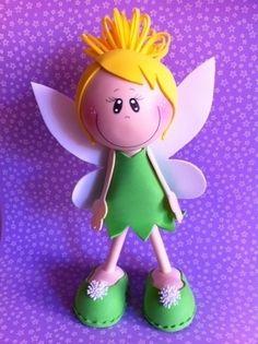 Mi fofucha Tinkerbell, o Campanilla.