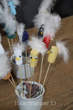 Haus Nummer 13: DIY Osterbasteln mit Kindergartenkindern