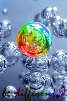 #Rainbow #Colours. googled #Bubbles