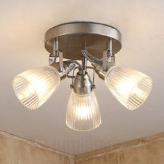 Buy Round LED bathroom ceiling light Kara fluted glass ✓Top-rated service ✓Comfortable & secure payment Years of experience ✓Order now! Bathroom Ceiling, Ceiling, Halogen Lamp, Ceiling Lamp Shades, Glass, Rustic Bathroom Shelves, Led Ceiling Lights, Bathroom Ceiling Light, Ceiling Lights