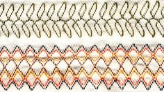 Huck weaving instructions and free pattern. Learn how to create a beautiful tea towel while learning the art of huck weaving. Also called Nordic Weaving or Swedish Weaving. Embroidery Patterns Free, Hand Embroidery, Embroidery Designs, Free Swedish Weaving Patterns, Huck Towels, Swedish Embroidery, Monks Cloth, Needlework, Free Pattern