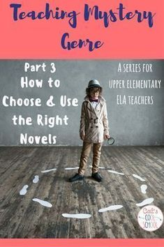 The one about teaching the mystery genre with novels: using The Westing Game and Sammy Keyes to differentiate and teach about mysteries. We created our own detective case file to track all of the important mystery elements. Engaging novel study idea for u