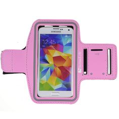 SumacLife Running Sports GYM Armband Pouch Case for Samsung Galaxy S5 / HTC ONE M8 / HTC Butterfly X920d / Sony Xperia Z2 (Pink). Hybrid design features a durable rubberized exterior and neoprene padded interior. Full screen protector allows full touch screen functionality. Provide excellent protection during sport, such as running, biking, jogging, walking, working out etc. SumacLife hardcore workout armband with key slot and earphone cord excess holder. Protective clear plastic window /...