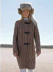 Ravelry: 566 - Coat pattern by Bergère de France
