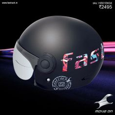 #GetHard if you want it to be a wild ride!  www.fastrack.in/helmets