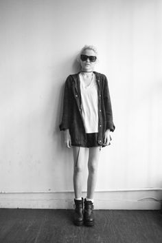 Sky Ferreira at Terry Richardson's studio #stylestar