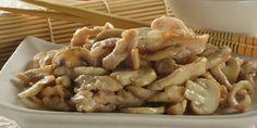 Piletina sa šampinjonima — Coolinarika