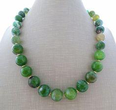 Shop Semi Precious Jade Gemstone Beads on Wanelo