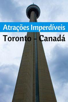 Em um Roteiro de viagem de 8 dias passamos Toronto, Montreal e Quebec. Nesse post reunimos as Atrações Imperdíveis de Toronto. CN Tower, Toronto Island, Dunda´s Square, Niagara Falls são algumas delas. Acesse!
