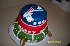 New England Patriots Cake! Make it a Woodhead or Brady cake and I'm game!! Happy birthday to me!! :-)