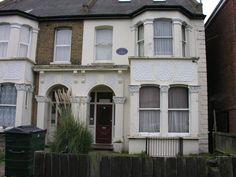 House in Wallwood Road where David Bailey lived. David Bailey, Garage Doors, London, Outdoor Decor, House, Home Decor, Decoration Home, Home, Room Decor