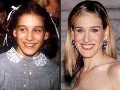 By the age of 8, Sex and the City's Sarah Jessica Parker (right, at a New York fashion event in June) was a working actress. Four years later, despite her stepfather's warnings that she wasn't up to snuff, she told Barbara Walters in March 2002, the determined teen (left, at a 1979 movie premiere) became a Broadway star in Annie.