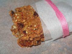 My Kitchen: Barrinhas de cereais e sementes com passas e tâmar...