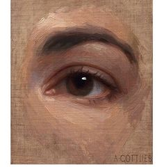 Oil Painting Gallery, Figure Painting, Painting & Drawing, Portraits, Portrait Art, Traditional Paintings, You Draw, Painting Lessons, Eye Art