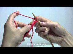 Comment faire un jeté ? (explications et vidéo) | Des Tricots Très Mimie