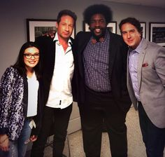 Great day in New York - The Tonight Show Starring Jimmy Fallon with David Duchovny & Questlove #ThinkSayFun #NewMusic