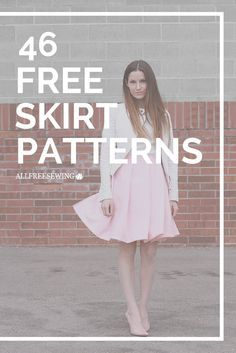 There are a lot of different skirt patterns here to sew.