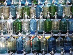 Antique Seltzer bottle collection by Dwellers Without Decorators: Are You A Collector?