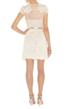 Karen Millen - Summer Cotton Lace Skirt