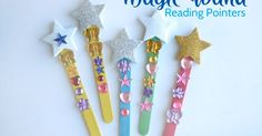 Creative Family Fun: Magic Wand Reading Pointers