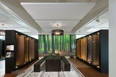 Techstyle Islands by Hunter Douglas. Architectuur | Inspiration | Acoustical Ceiling