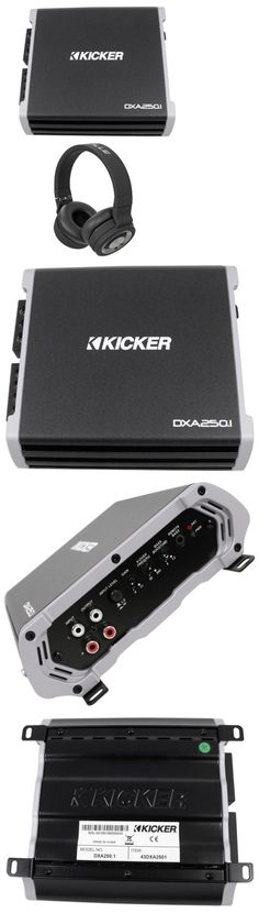 Kicker 43cxarc bass remote control for kicker cxa seriespxa serie car amplifiers kicker 43dxa2501 250 watt rms mono class d car amplifier amp dxa250 sciox Image collections