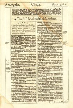 37 Best 1611 King James Bible First Edition: Selected Pages