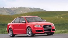 Audi will leap back into the performance sedan market with its e-turbocharged 2017 Audi Allroad, Audi Rs4, Red Audi, Classic European Cars, Rs 4, Future Car, Car Wallpapers, Sport Cars, Car Pictures