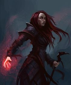 A place to share and appreciate fantasy and sci-fi art featuring reasonably portrayed women. Fantasy Warrior, Fantasy Rpg, Dark Fantasy Art, Fantasy Artwork, Dungeons And Dragons Characters, Dnd Characters, Fantasy Characters, Female Characters, Fantasy Character Design