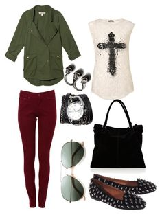 """""""Grunge"""" by belinha-figueiredo ❤ liked on Polyvore featuring Jeffrey Campbell, Topshop, TEXTILE Elizabeth and James, Karen Millen and Sara Designs"""