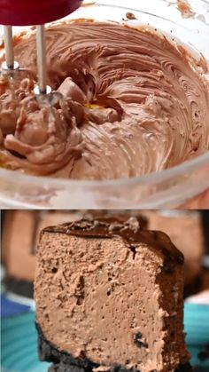 Instant Pot Death by Chocolate Cheesecake- easy pressure cooker chocolate cake recipe. Death By Chocolate Cheesecake Recipe, Easy Cheesecake Recipes, Dessert Recipes, Chocolate Chiffon Pie Recipe, Cake Recipes In Cooker, Chocolate Cheescake, Death By Chocolate Cake, Homemade Cheesecake, Cheesecake Cookies