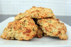 Let's do Brunch! Cheese and chive scones with garlic butter | Amuse Your Bouche