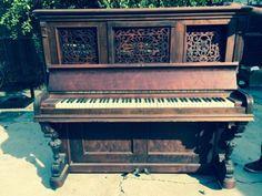everett piano black upright carved - Google Search