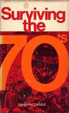 Surviving the 70's, book cover, ©1971 / Design: Al Pisano