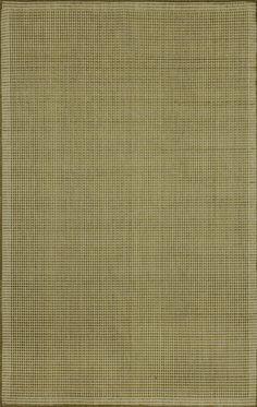 Terrace Green/Ivory Texture Indoor/Outdoor Area Rug