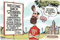 These college kid libtards need to wake up!