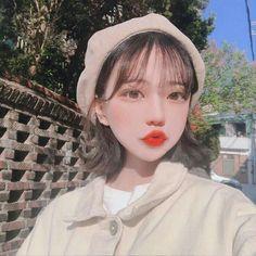 Pretty Korean Girls, Korean Beauty Girls, Korean Girl Fashion, Cute Korean Girl, Asian Beauty, Asian Girl, Pelo Ulzzang, Ulzzang Korean Girl, Cute Kawaii Girl