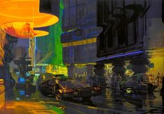 Syd Mead - 'Blade Runner' Concept art