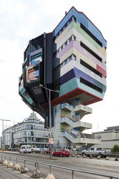 ✔ Steglitzer Bierpinsel, Berlin, East Germany (1972-1976).