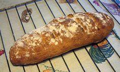 Pan rústico con masa madre