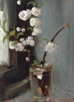 Felix Pissarro: Camille Pissarro --my favorite. Camille Pissarro, Painting Still Life, Still Life Art, Art Floral, Rose Oil Painting, Paul Cézanne, Still Life Flowers, European Paintings, Contemporary Paintings