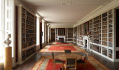 The library of St. Giles House, home of the Earls of Shaftesbury since 1651