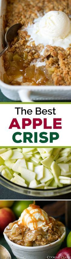 Best Ever Apple Crisp