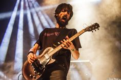 Miguel Ortega, guitarrista de Santo Rostro, KristonFest 2016, Santana 27, Bilbao, 13/V/2016. Foto por Dena Flows  http://denaflows.com/galerias-de-fotos-de-conciertos/s/santo-rostro/
