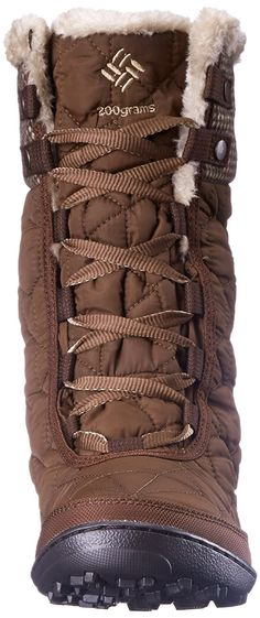 Amazon.com | Columbia Women's Minx Mid II OH Tweed Cold Weather Boot | Snow Boots