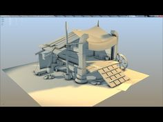 Maya Modeling Techniques - Low Poly Assets for games - Part 1 - YouTube