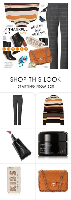 """""""Thankful for Love!"""" by angiesprad ❤ liked on Polyvore featuring Paul & Joe, Bobbi Brown Cosmetics, Kahina Giving Beauty, Kate Spade and Chanel"""