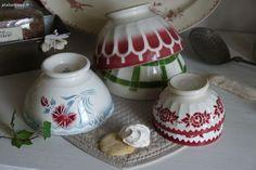 vaisselle ancienne , Digoin, sarreguemines Brocante de charme atelier cosy.fr