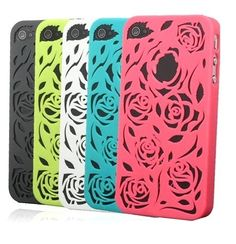 F09 Rose Hollow Carving iPhone hard case protector cover for iPhone4 4S | eBay